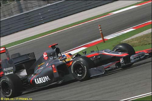 HRT F1. Карун Чандхок