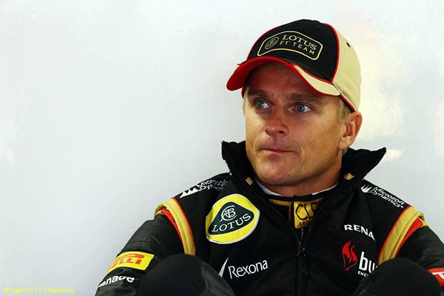 Хейкки Ковалайнен на Гран При Бразилии 2013 года