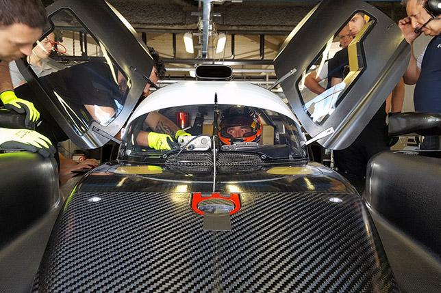 Роберт Кубица за рулём Dallara LMP2 команды SMP Racing