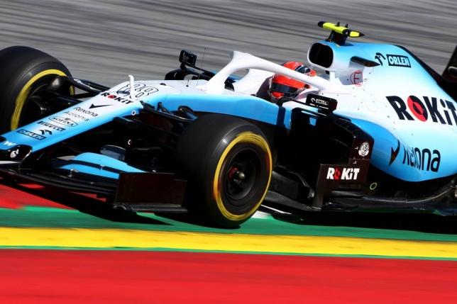 Роберт Кубица за рулём машины Williams на Гран При Австрии