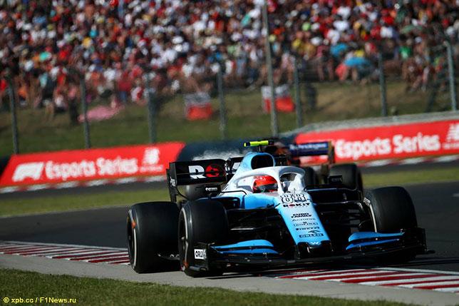 Роберт Кубица на трассе Гран При Венгрии