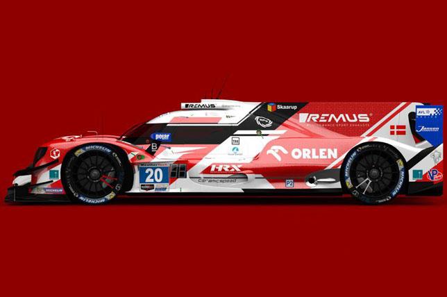 Машина High Class Racing для выступления в Дайтоне