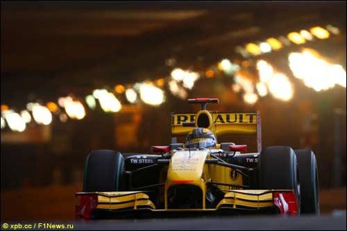 Роберт Кубица на трассе в Монако
