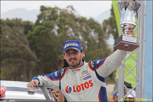 Роберт Кубица - победитель ралли Акрополис в классе RRC