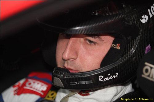 Роберт Кубица на Rally France, октябрь 2014 года