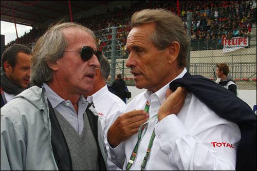 Жак Лаффит (слева) и Жаки Икс