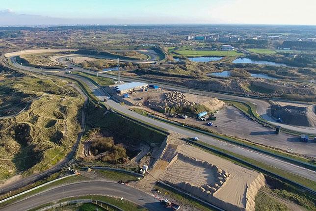 Автодром в Зандфорте на завершающей стадии реконструкции, фото пресс-службы CM.com Circuit Zandvoort