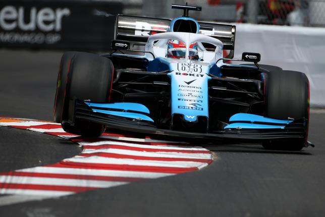 Джордж Расселл на Гран При Монако, 2019 год