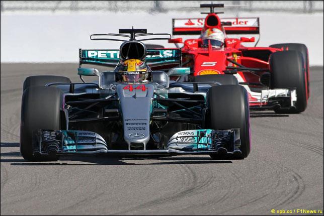 Льюис Хэмилтон одержал победу квалификацию Гран-при Испании