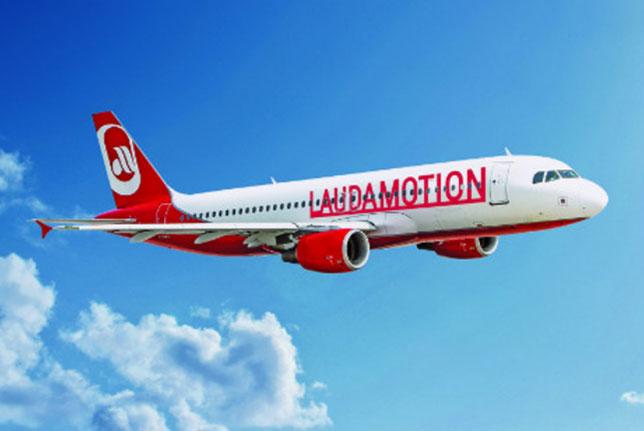Самолет авиакомпании LaudaMotion (фотография LaudaMotion GmbH)