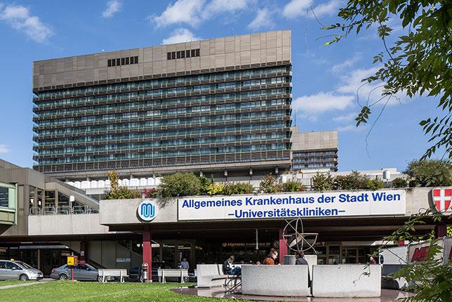Главный госпиталь столицы Австрии