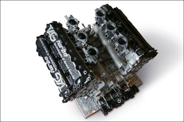 Двигатель V6 TAG-Porsche