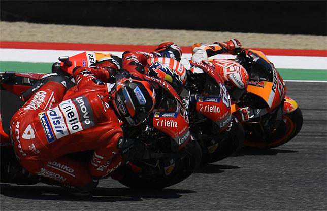 Один из эпизодов гонки в Муджелло, фото пресс-службы MotoGP