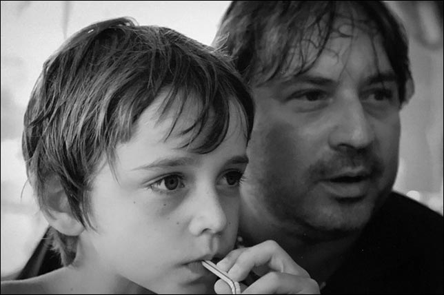 Шарль с отцом