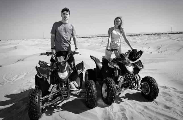 Шарль Леклер и его подруга предпочитают активный отдых в тёплых краях, фото из Instagram гонщика