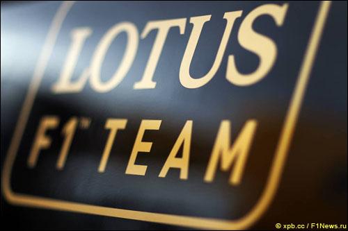 Логотип Lotus F1