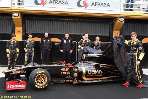 Презентация Lotus Renault R31