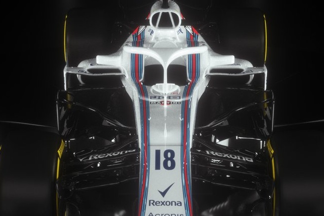 Система Halo на машине Williams FW41