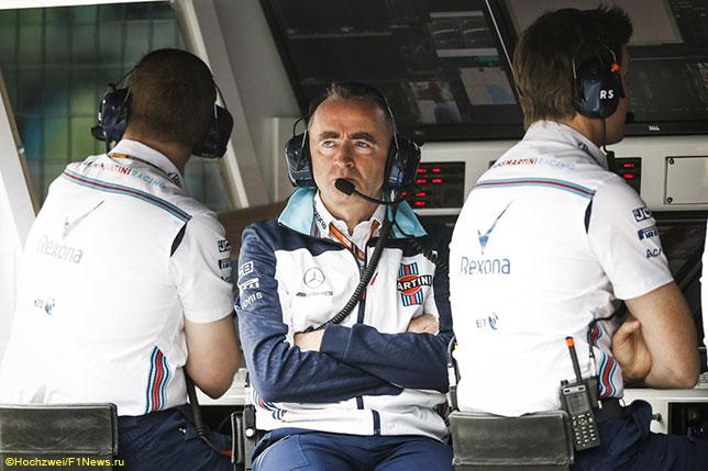 Падди Лоу, техническиий директор Williams
