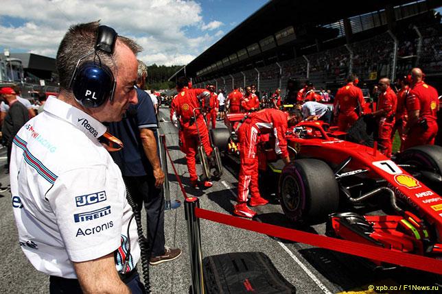 Падди Лоу присматривается к Ferrari SF71H, которую считают лучшей машиной чемпионата 2018 года