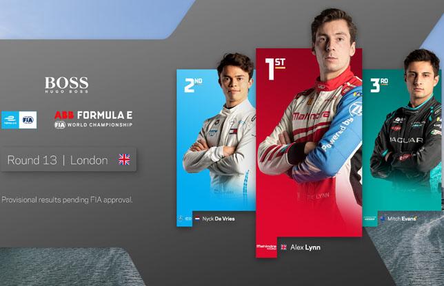 Алекс Линн одержал первую победу в Формуле Е