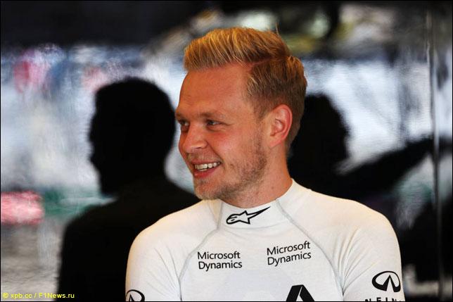 Haas предложила двухлетний договор Кевину Магнуссену