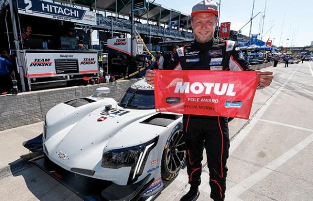 Кевин Магнуссен, победитель квалификации в Детройте, фото пресс-службы IMSA