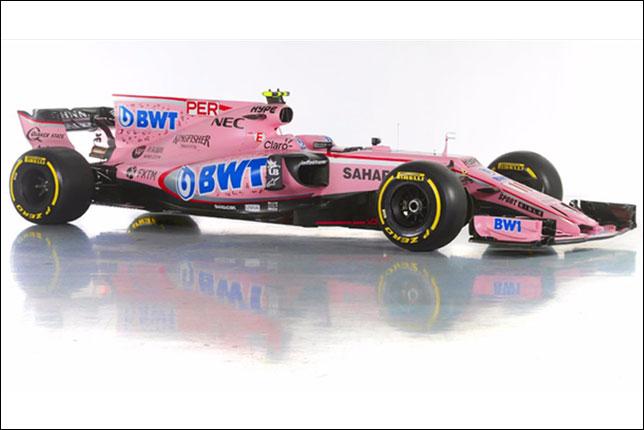 Машина Force India