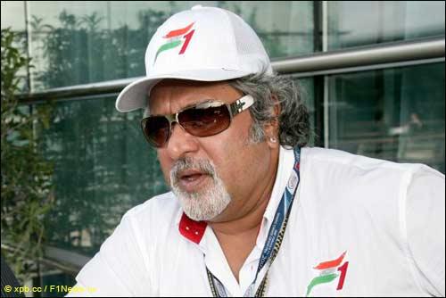 Глава индийской автоспортивной федерации FMSCI Виджей Малья