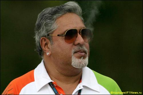 Руководитель Force India Виджей Малья