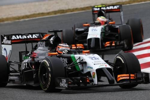 Гран При Испании. Гонщики Force India
