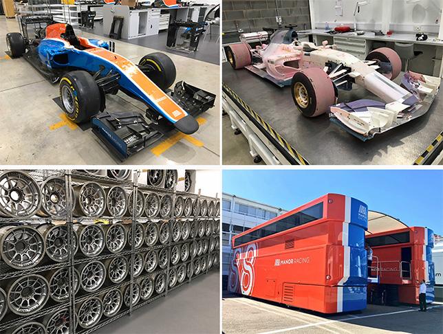 Активы гоночной команды Manor Racing выставили нааукцион