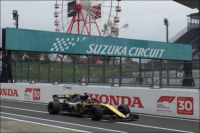 Артём Маркелов на тестах Pirelli