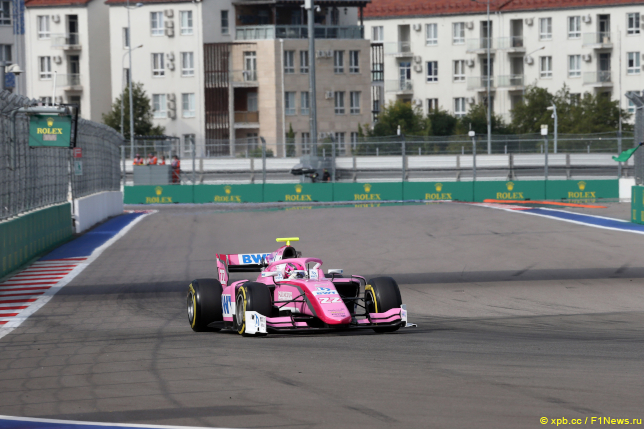 Этап Формулы 2 в Сочи. Артем Маркелов