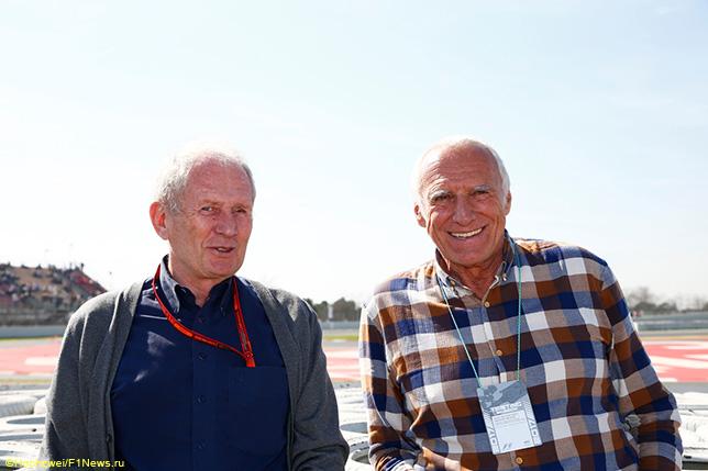 Хельмут Марко (слева) и Дитрих Матешиц