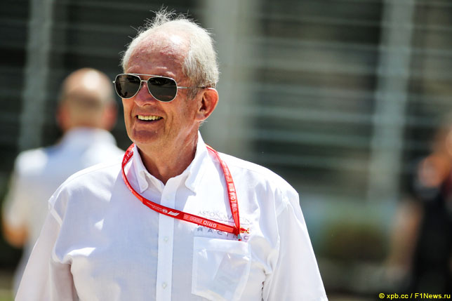 马可:女人不要站在F1的物理应变