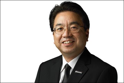 Исполнительный вице-президент Йошиаки Киношита