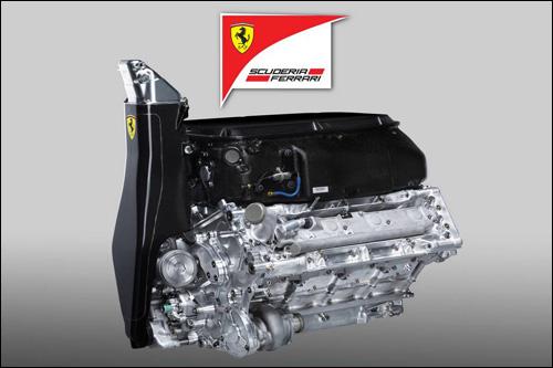 Двигатель Ferrari 056