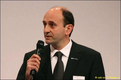 Глава департамента двигателей Ferrari Лука Марморини