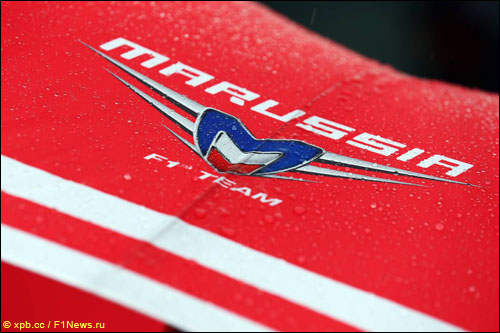 Логотип Marussia F1
