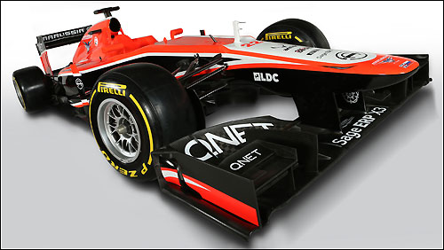 Marussia F1 MR02