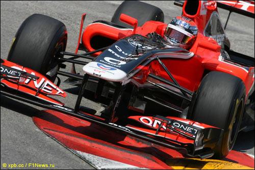 Marussia Virgin Racing. Жером Д'Амброзио
