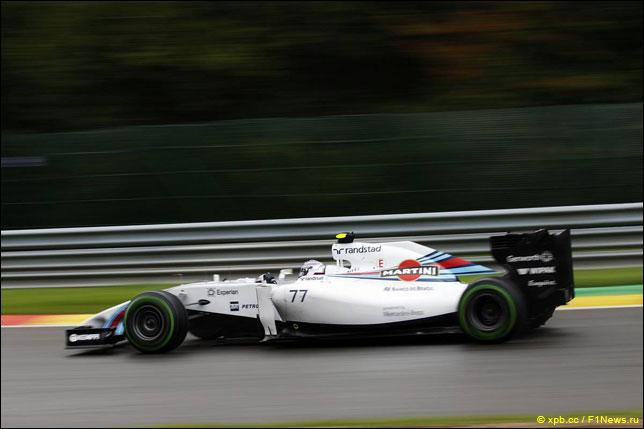 Валттери Боттас на прошлогоднем Гран При Бельгии