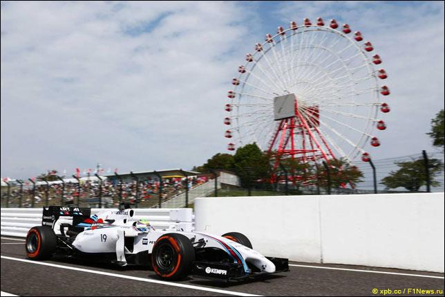 Фелипе Масса на прошлогоднем Гран При Японии