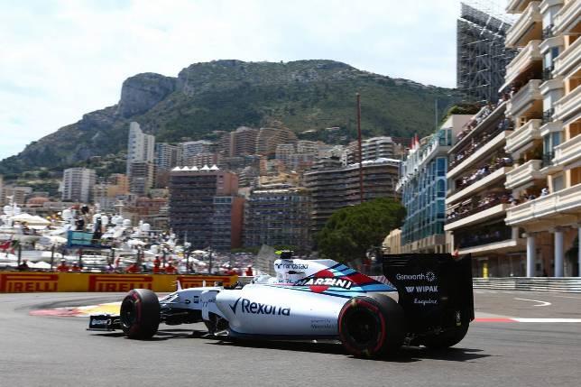 Валттери Боттас на прошлогоднем Гран При Монако