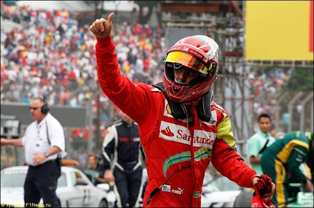 Масса желает закончить карьеру вФормуле-1 фантастической гонкой вАбу-Даби