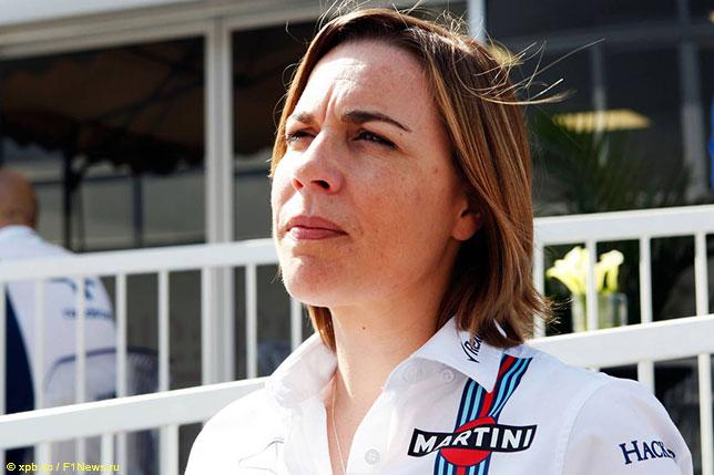 Клэр Уильямс, заместитель руководителя команды Williams