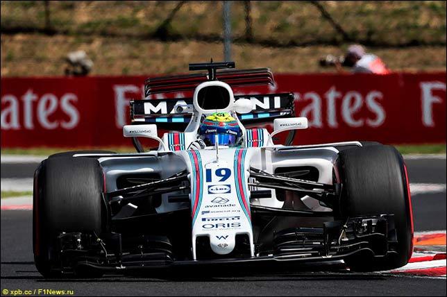 ДиРеста заменит Массу в«Уильямсе» вквалификации игонке Гран-при Венгрии