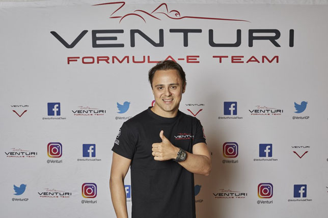 Формула Е: Фелипе Масса подписал контракт с Venturi