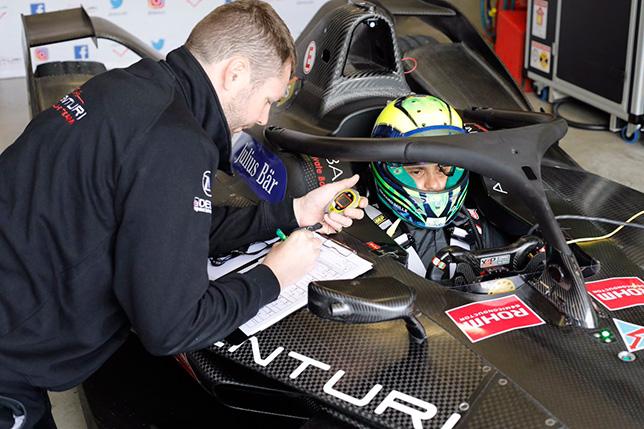 Формула E: Фелипе Масса завершил первые тесты
